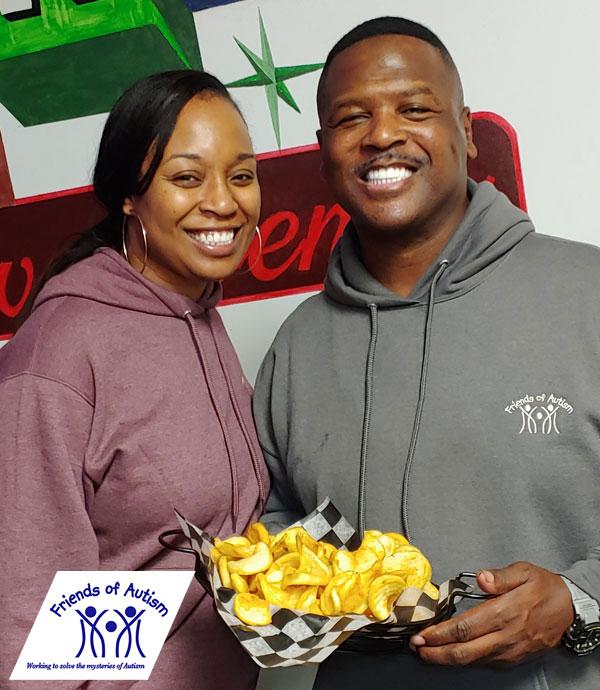 Packer Leroy Butler Enjoys some Swagger Fries